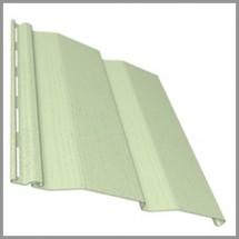 Сайдинг виниловый «Ю-Пласт», зеленый