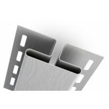 Аксессуары к сайдингу (белые) H-профиль (соединитель)