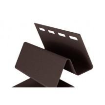 Внутренний угол Ю-Пласт коричневый