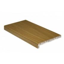 Подоконник Витраж Пласт натуральный дуб 100 мм