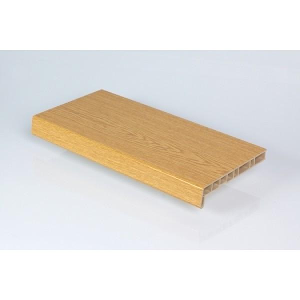 Лучшая в Москве цена на Подоконники Crystalit дуб натуральный глянец 600 мм