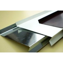 Отлив металлический 100 мм (4 цвета)