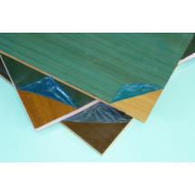 Сэндвич панель ламинированная цвет махагон двухсторонняя 10 * 1300 * 3000